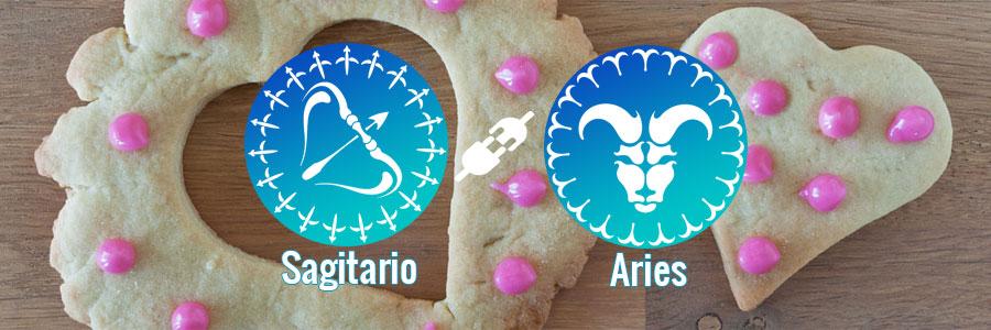 Compatibilidad de Sagitario y Aries
